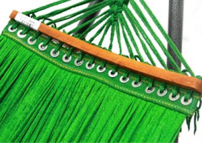 Lưới võng cán gỗ cao cấp rộng thoáng và mềm mịn